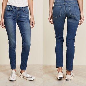 NWOT! FRAME 'Le Garçon' Medium Wash Skinny Jeans